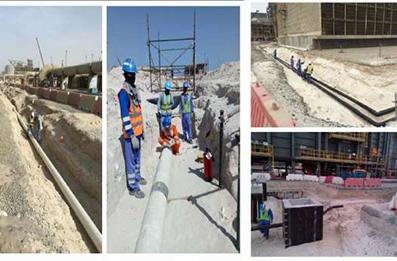 CB2007 Concrete Works, ATA Power Island, Abu Dhabi